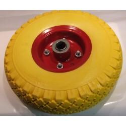 Steekkar wiel massief 3.00x4